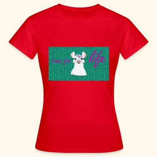 lama / alpaca - Frauen T-Shirt