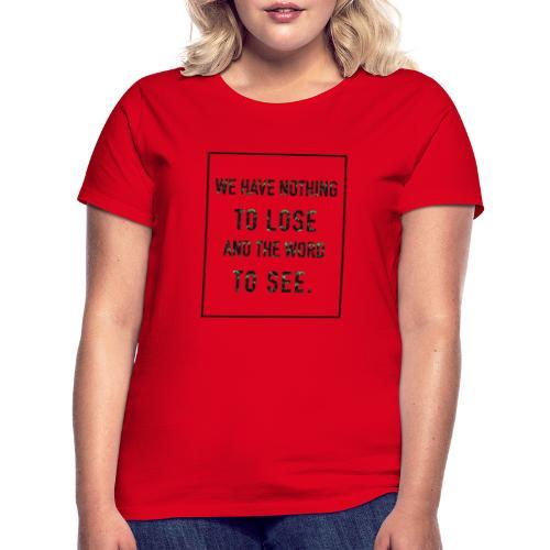 motivation - T-shirt Femme
