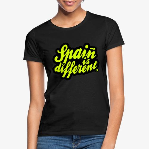 Spaiñ is different - Camiseta mujer