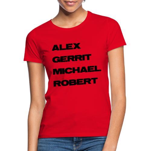 20100314 agmr reservoirgrunge schwarz - Frauen T-Shirt