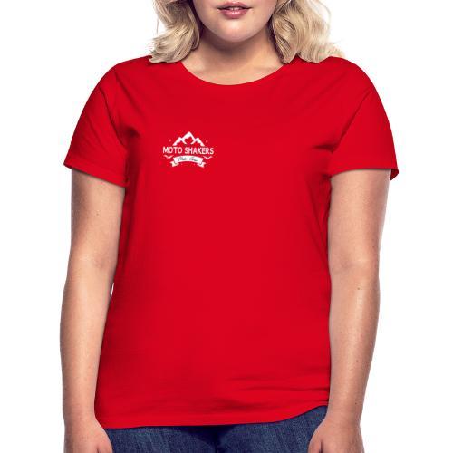 logo bianco - Maglietta da donna