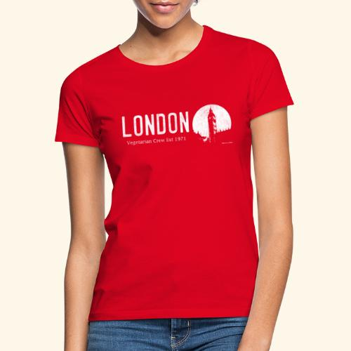 London Vegetarian Crew - Women's T-Shirt