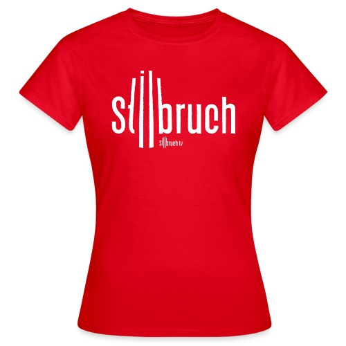 655 stilbruch web illustrator10 NEU - Frauen T-Shirt