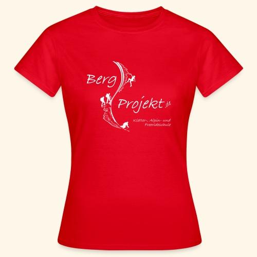 BP transp Schrift - Frauen T-Shirt