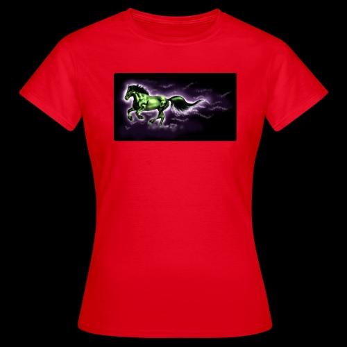 Black Percheron - Women's T-Shirt