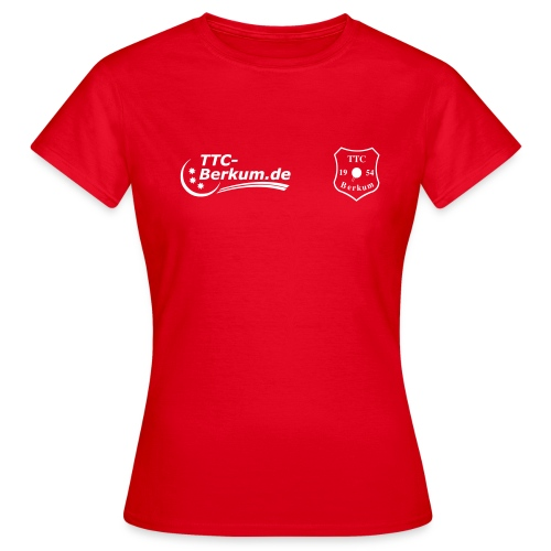 logo ttc - Frauen T-Shirt
