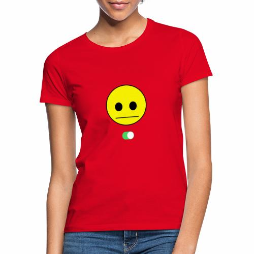 Happy Face is Inside - Camiseta mujer