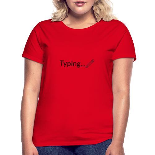 Typing - Camiseta mujer