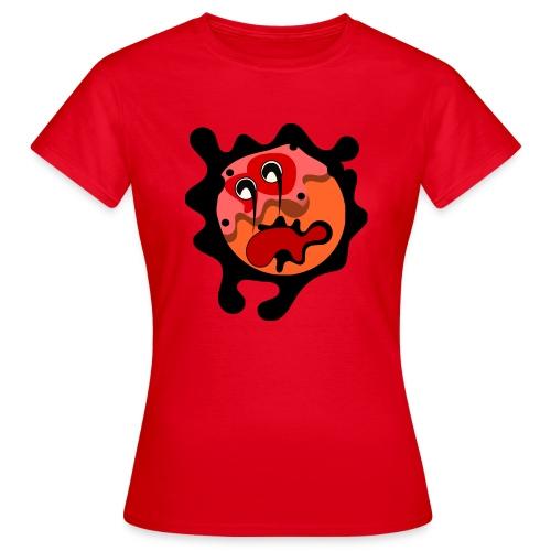 scary cartoon - Vrouwen T-shirt