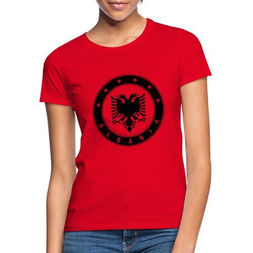 Patrioti Albania Black - Frauen T-Shirt