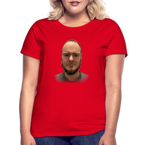 Face with Beard - Frauen T-Shirt
