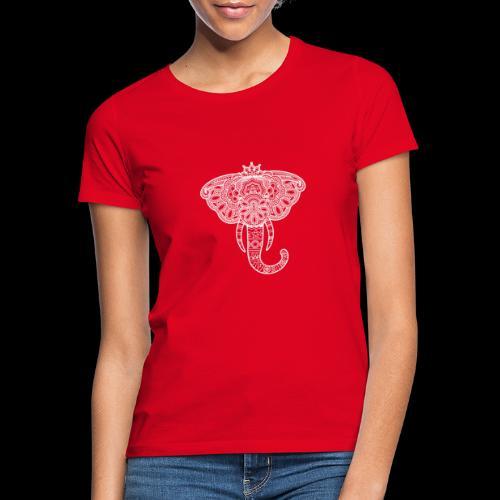 Henna elephant - Women's T-Shirt