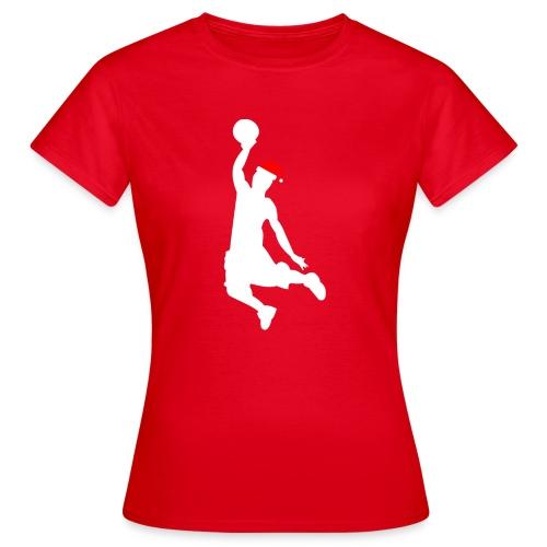 Basketball Player Silouette - Women's T-Shirt