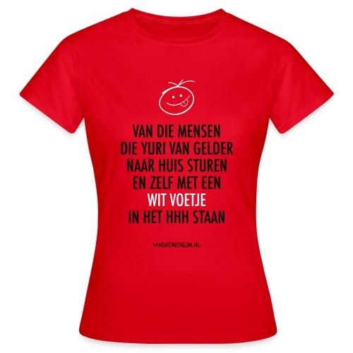 vdm-vangelder-witvoetje - Vrouwen T-shirt
