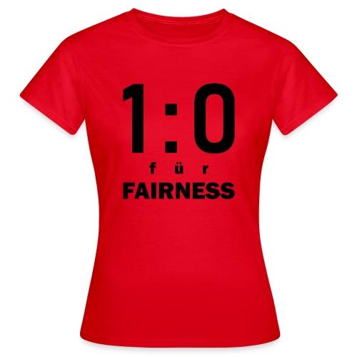 FAIRNESS in Führung - Frauen T-Shirt