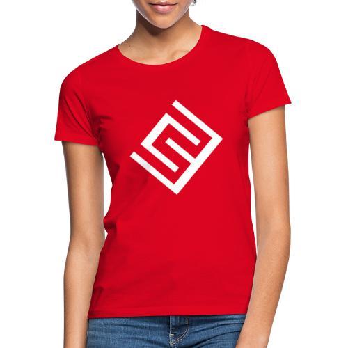 ChrisWhippit Logo Vit - T-shirt dam