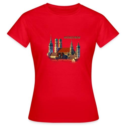 München Frauenkirche - Frauen T-Shirt