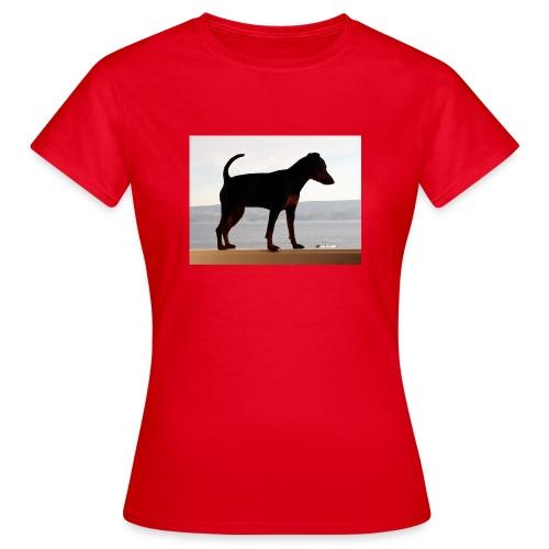 Zwergpinscher auf Reisen - Frauen T-Shirt