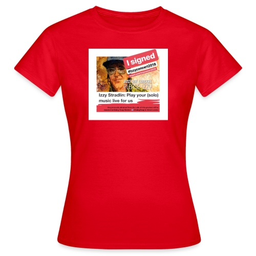 Izzyconcert2018 - Women's T-Shirt