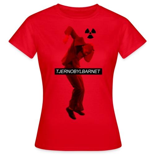 TJERNOBYL RÖD - T-shirt dam