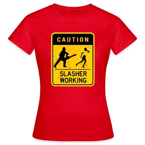 Slasher working - T-shirt Femme
