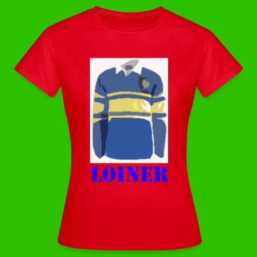 Leeds Loiner [Blue] - Women's T-Shirt