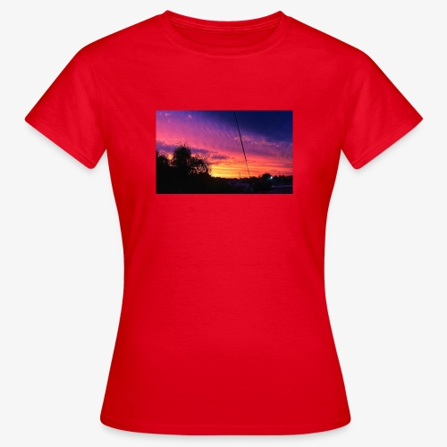 atardecer - Camiseta mujer