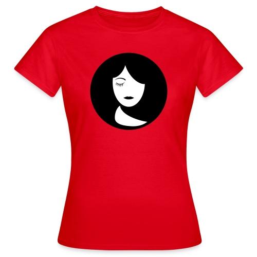 face - Vrouwen T-shirt