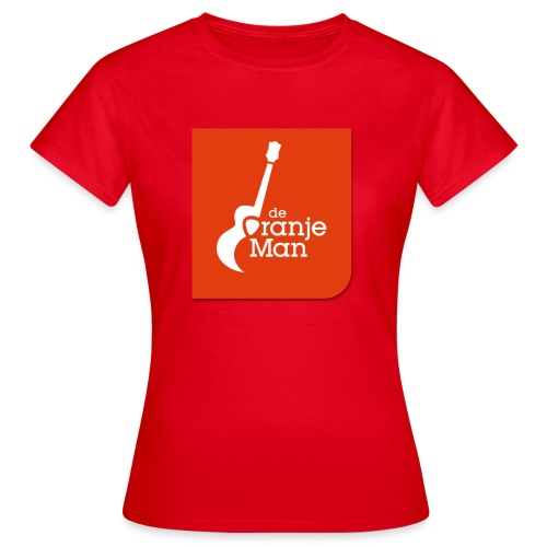 De Oranje Man Wilhelmus Hoekstra Logo Oranje Vlak - Vrouwen T-shirt