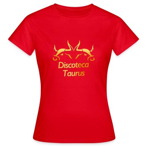LOGO TAURUS GOLD - Camiseta mujer