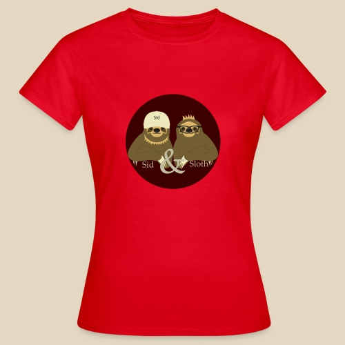 Sid & Sloth - T-shirt Femme