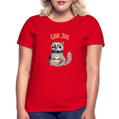 God jul - T-skjorte for kvinner