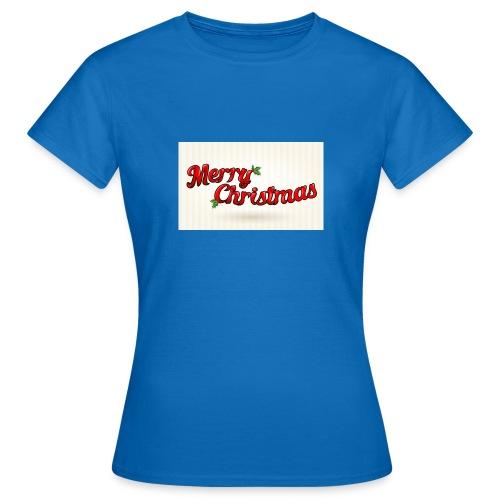 merry christmas design - Vrouwen T-shirt