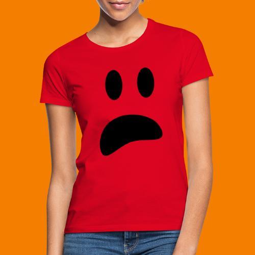 Skrämt spöke - T-shirt dam
