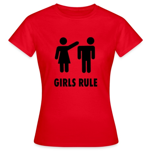 Frauen Macht - Frauen T-Shirt