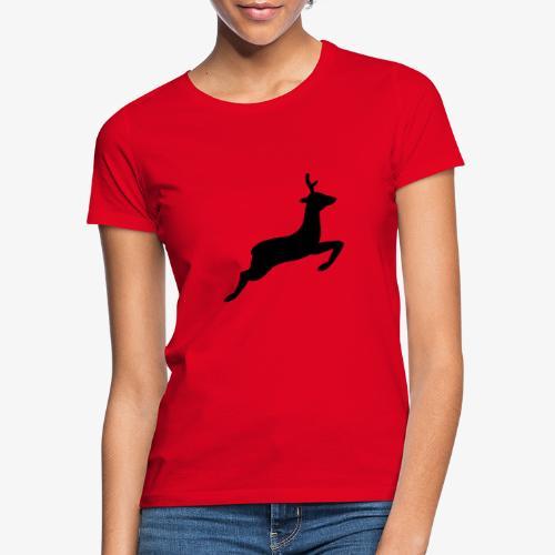 hirsch tehmen - Frauen T-Shirt