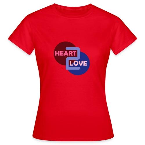 Heart 2 Love - Women's T-Shirt
