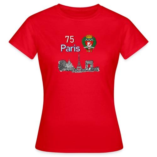 Paris france - T-shirt Femme