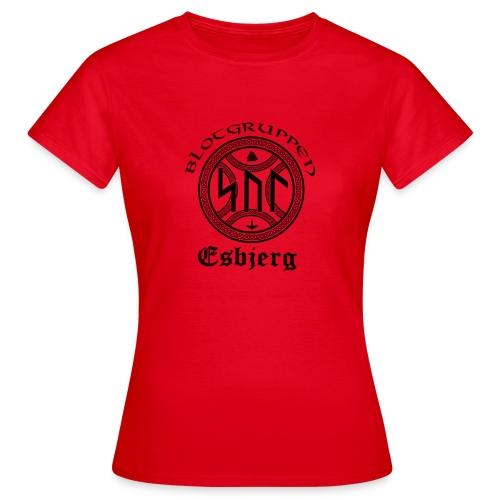 Asatro Blòtgruppen Sol Esbjerg - Dame-T-shirt