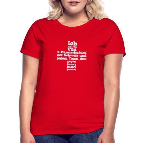 Fan von zwei Mannschaften - Frauen T-Shirt