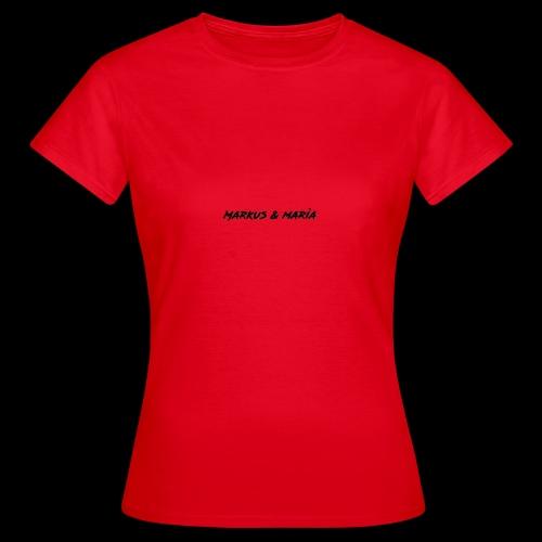 markus och maria - T-shirt dam
