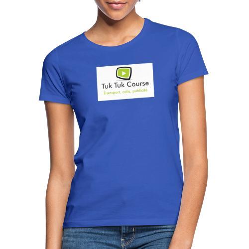 Logo tuk tuk course - T-shirt Femme