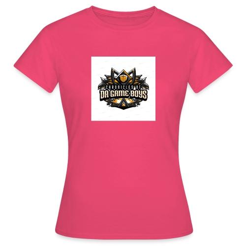 da game boys - Vrouwen T-shirt
