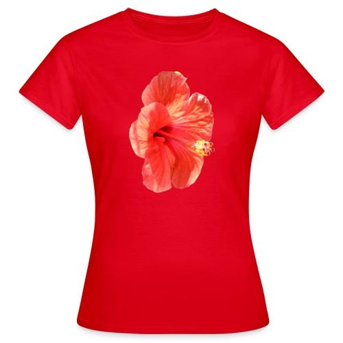 A red flower - Women's T-Shirt