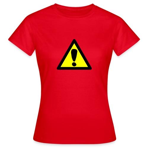 exclamacion - Camiseta mujer