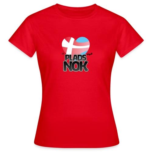 PLADS NOK - Dame-T-shirt