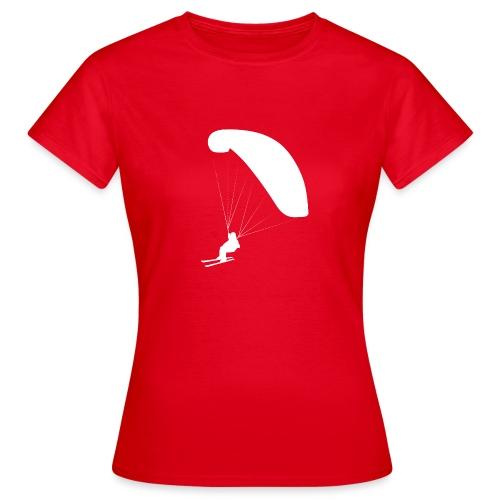 Speedflying Speedriding Paragliding - Frauen T-Shirt