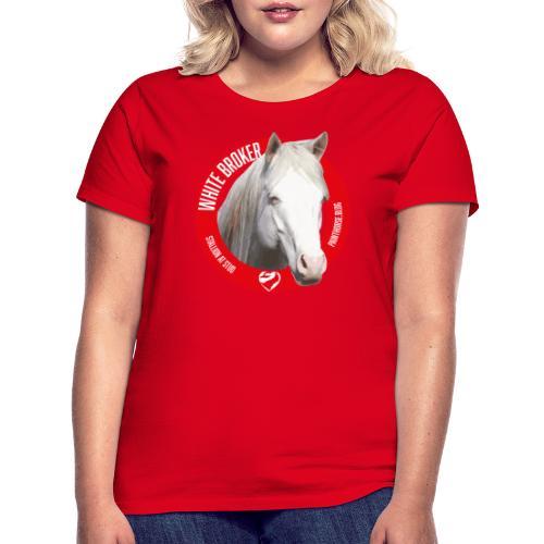 WHITE BROKER - Maglietta da donna