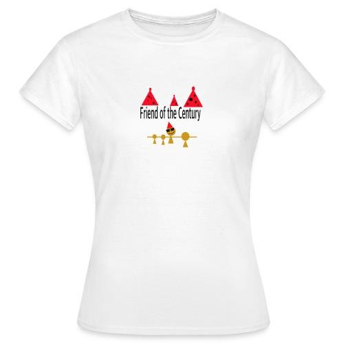 amigo del siglo - Camiseta mujer