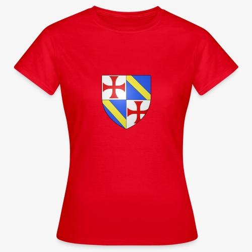 Armoiries Jacques de Molay - T-shirt Femme